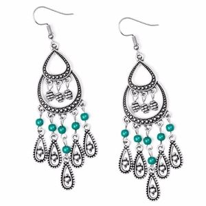 Free with Bundle Eastern Excursion Green Earrings